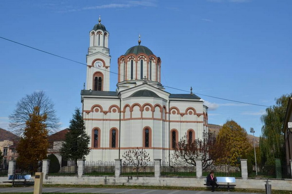 The Holy Trinity Church in Trstenik