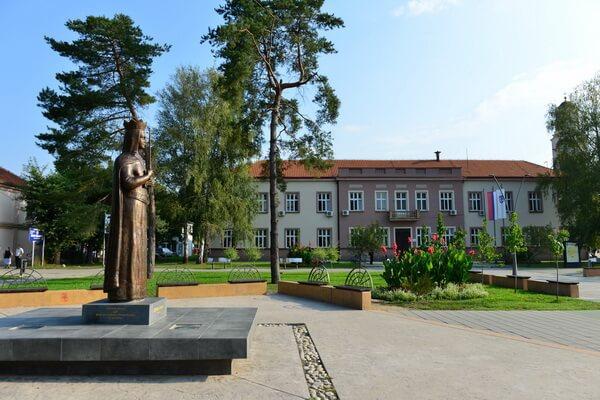 monument, princess milica
