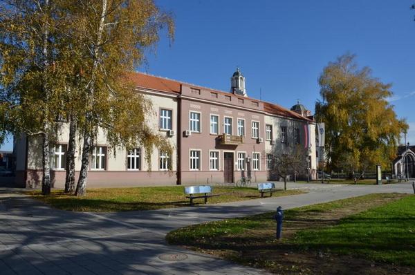 Trstenik Municipality building, old trstenik