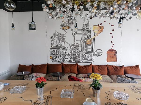 kafeterija, kafići, trstenik